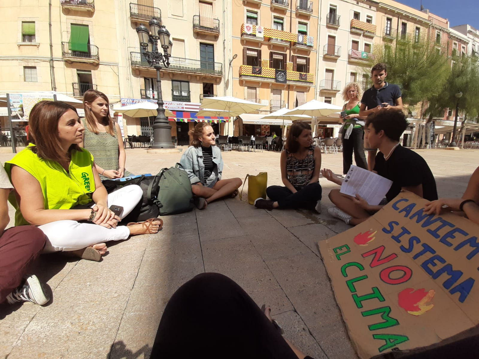 Parlant amb Fridays for Future